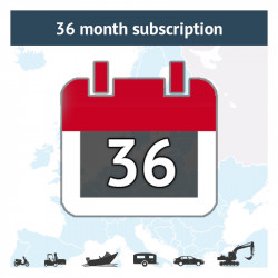 36 month subscription